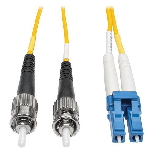 Tripp Lite Duplex Singlemode 8.3/125 Fiber Patch Cable (LC/ST), 15M