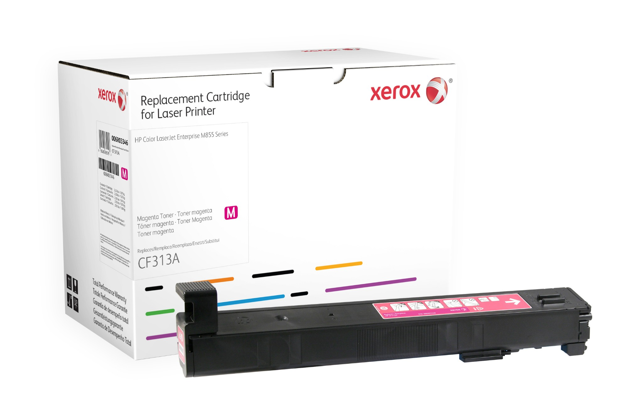 Xerox 006R03346 compatible Toner magenta, 31.5K pages (replaces HP 826A)