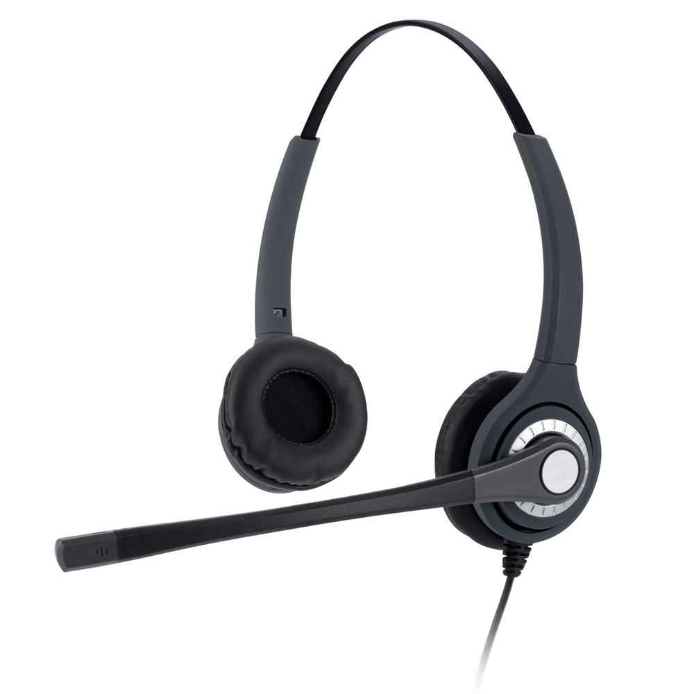 Dual Ear Overhead Band Put And Stay Ratchet Boom Arm (jpl-402s-pb)