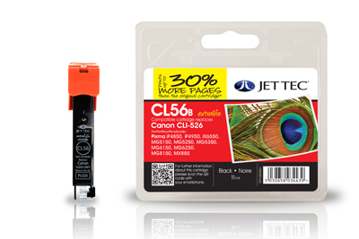 Jet Tec CL56B Black ink cartridge
