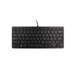 R-Go Tools Compact Keyboard QWERTY Black