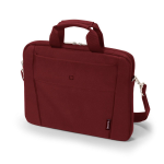 "Dicota Slim Case Base 15-15.6 notebook case 39.6 cm (15.6"") Messenger case Red"
