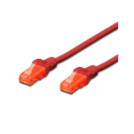 FDL 0.5M CAT.6 UTP PATCH CABLE - RED