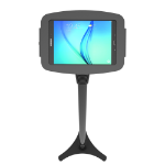 "Maclocks Space Galaxy Tab A Adjustable Floor Stand Kiosk 10.1"" Black tablet security enclosureZZZZZ], 147B910AGEB"