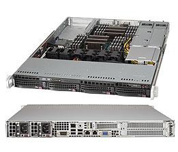 Supermicro SuperServer 6018R-WTR Intel C612 LGA 2011 (Socket R) 1U Black