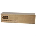 Toshiba 6AK00000016 (T-6000 E) Toner black, 60.1K pages @ 6% coverage, 1,320gr
