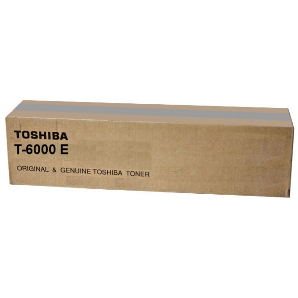 Toshiba 6AK00000016 (T-6000 E) Toner black, 60.1K pages @ 6% coverage, 1,320gr