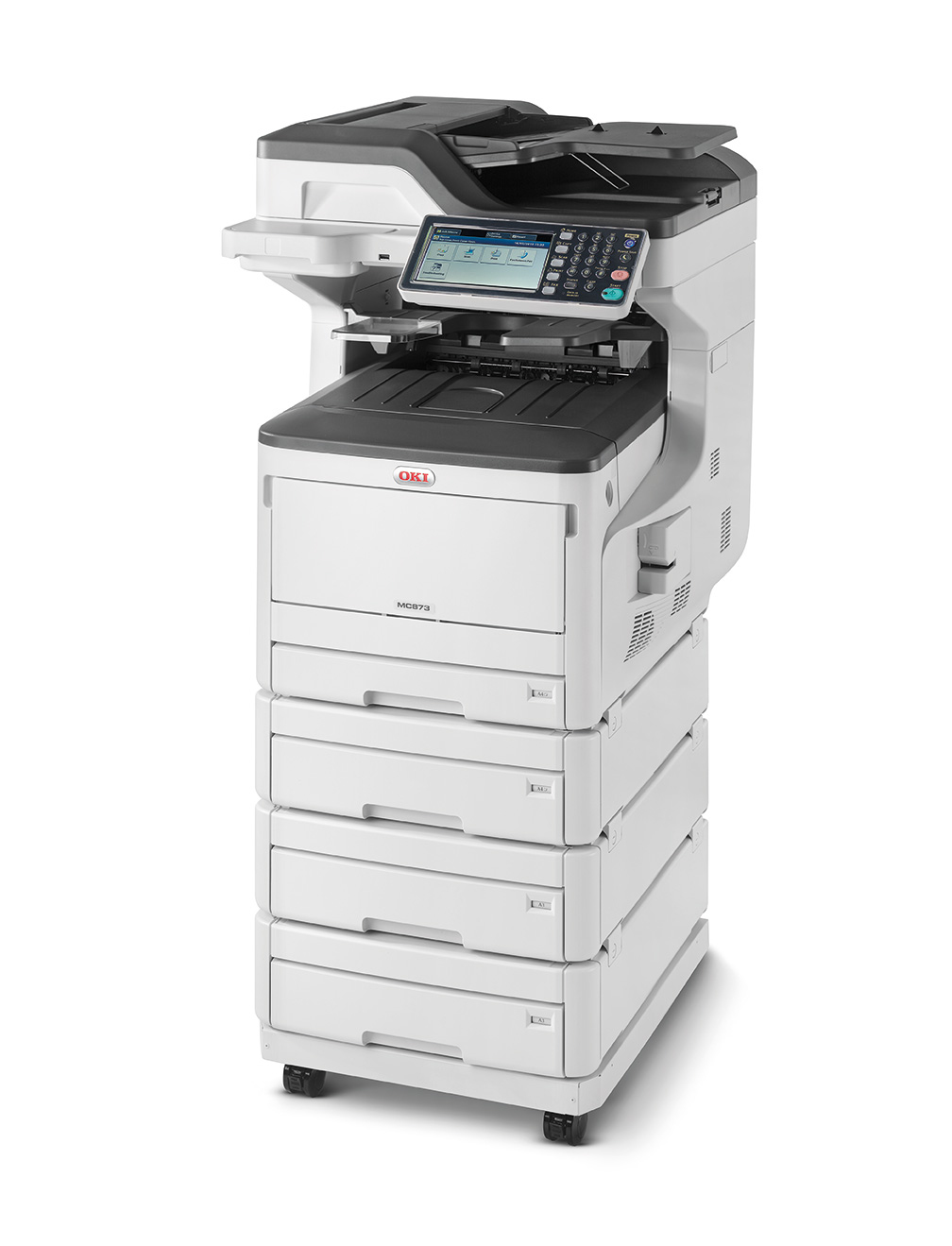 Mc873dnv - Color Multifunction Printer - LED - A3 - USB / Ethernet