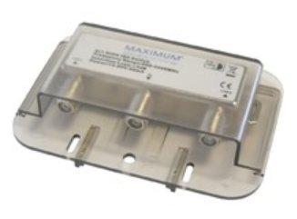 Maximum 1214 Grey cable splitter/combiner