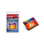 TRANSCEND 8GB 133x Compact Flash (Standard)