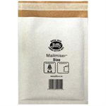 Jiffy Riggikraft Mailmiser Protective Envelopes Bubble-lined No 00 White 115x195mm Ref JMM-WH-00 [Pack 100]