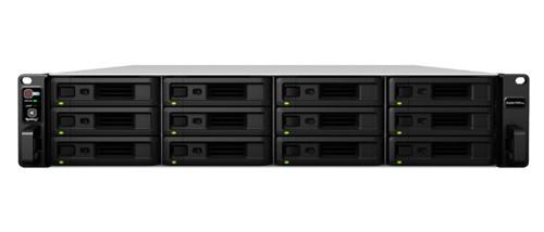 Synology RackStation RS3617RPxs Ethernet LAN Rack (3U) Black NAS