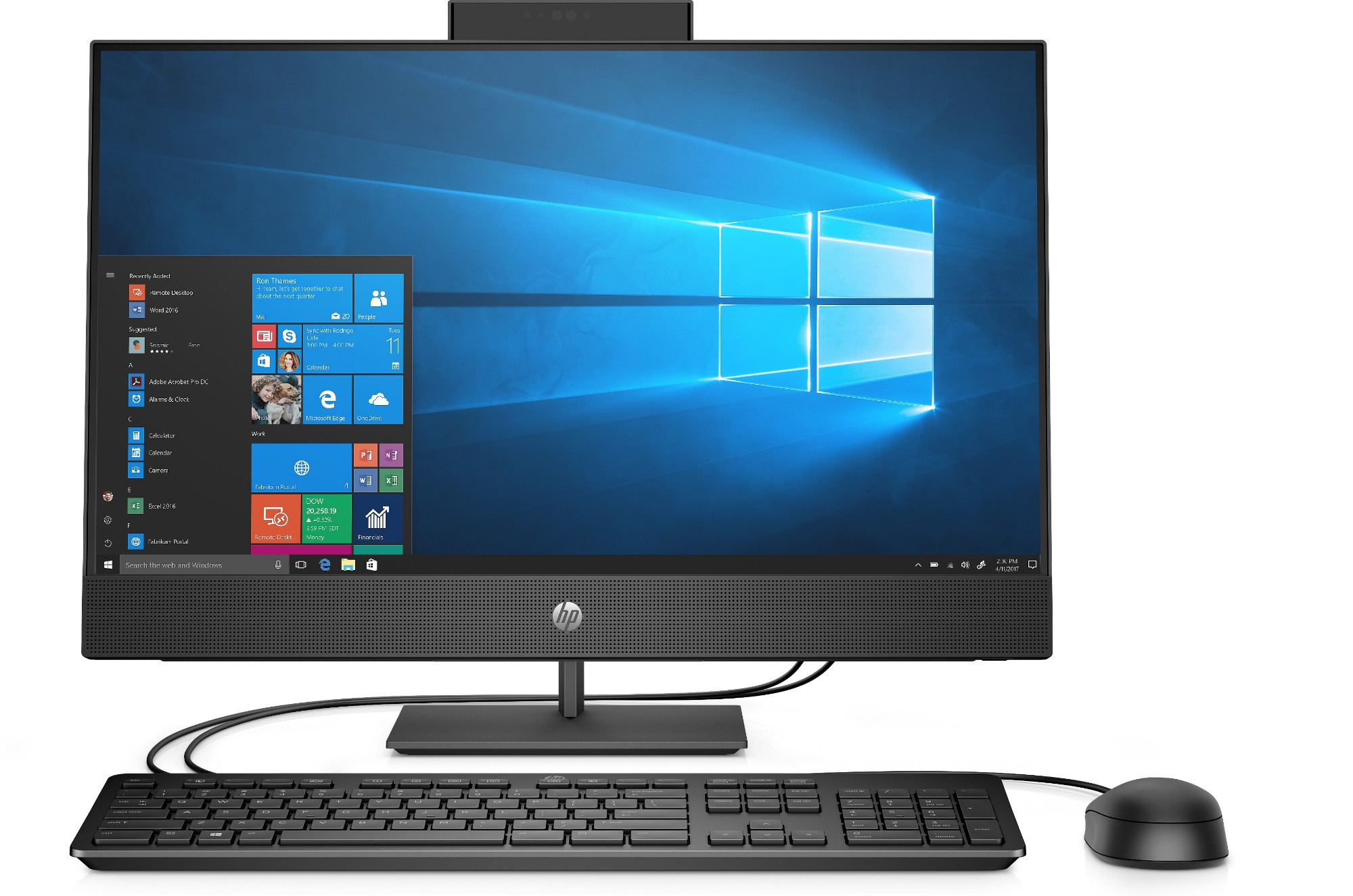 HP AIO ProOne 440 G5 7PH56EA#ABU Core i5-9500T 8GB 256GB SSD DVDRW 23.8IN FHD Win 10 Home