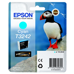 Epson C13T32424010 (T3242) Ink cartridge cyan, 980 pages, 14ml