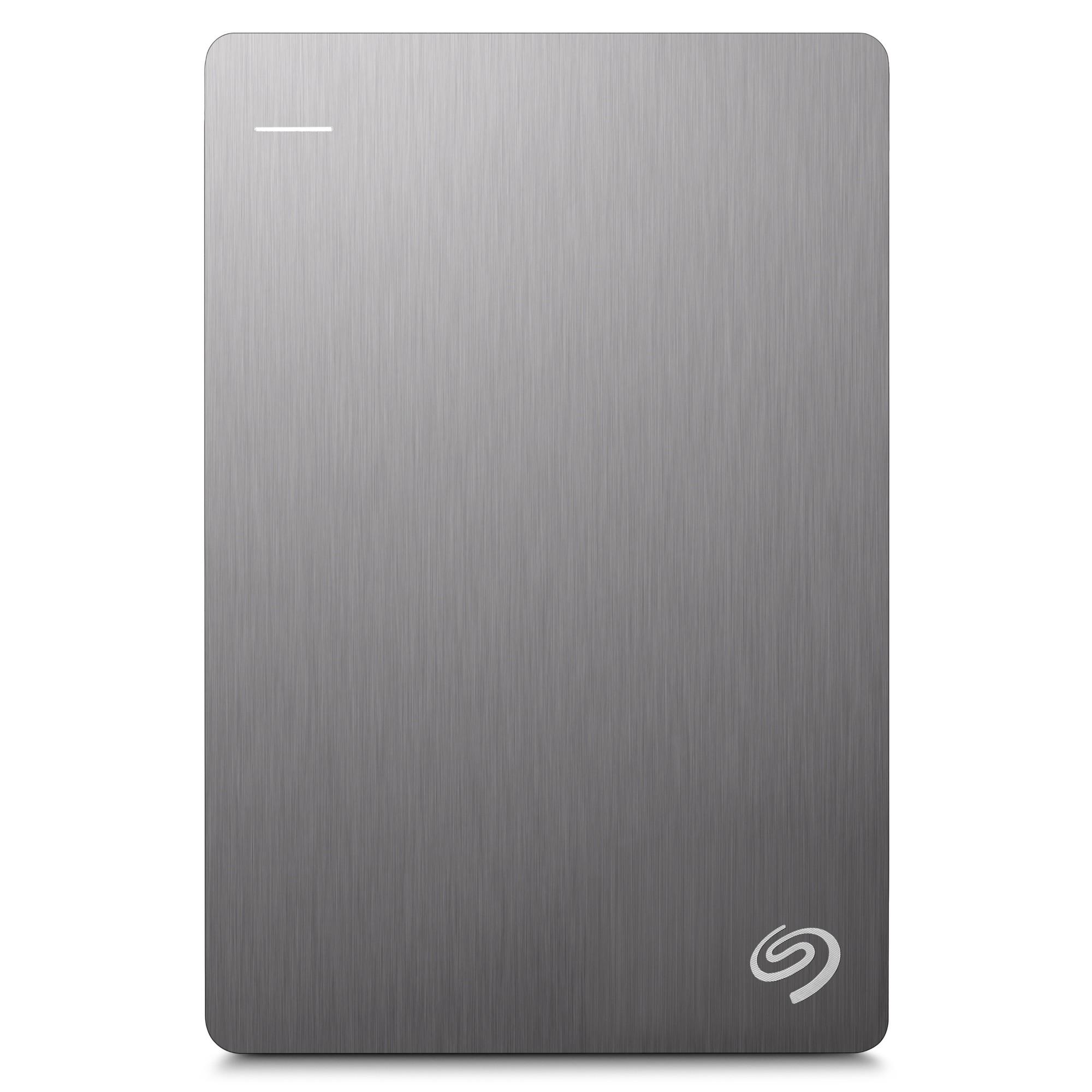 Seagate Backup Plus Slim Portable Drive 1TB, Silver