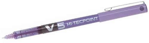 Pilot Hi-Tecpoint V5 Stick pen Purple 12 pc(s)