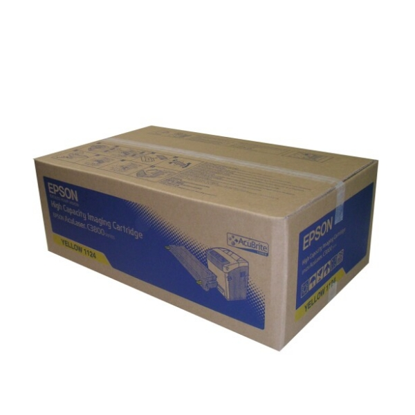 Epson C13S051124 (1124) Toner yellow, 9K pages