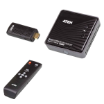ATEN VanCryst Wireless HDMI Extender (up to 10m, Full HD 1080p, 3D) - 2x HDMI Switch (PROJECT)