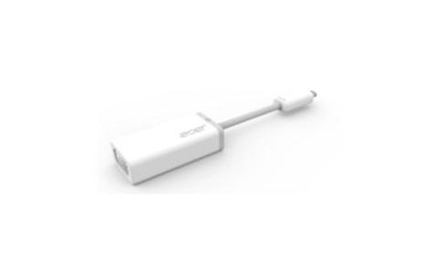Acer NP.OTH11.004 Micro-HDMI D-Sub White cable interface/gender adapter