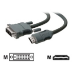 Belkin HDMI/DVI Cable HDMI DVI Grey cable interface/gender adapter