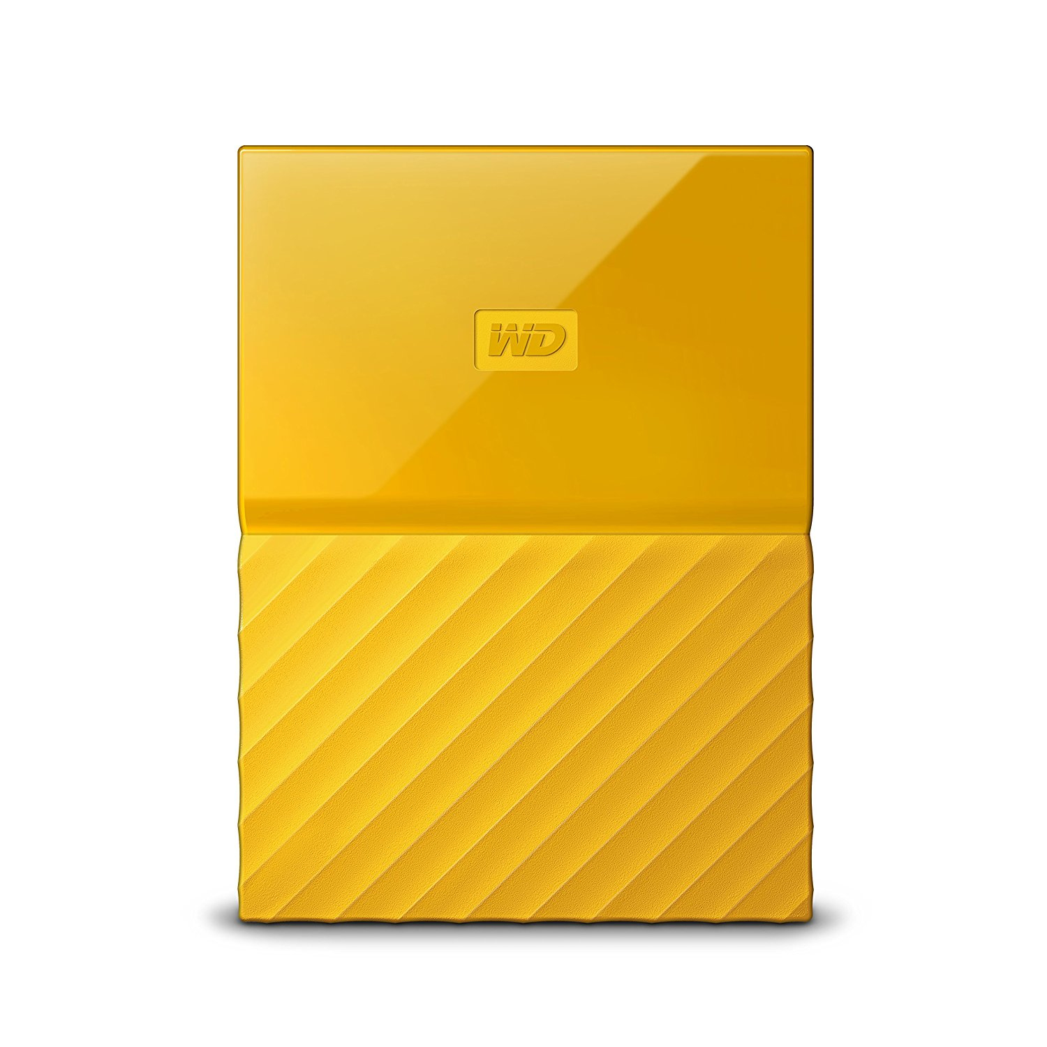 Western Digital My Passport 2000GB Yellow external hard drive