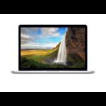 "Apple MacBook Pro Retina 15"" 15.4"" 2880 x 1800pixels Silver"