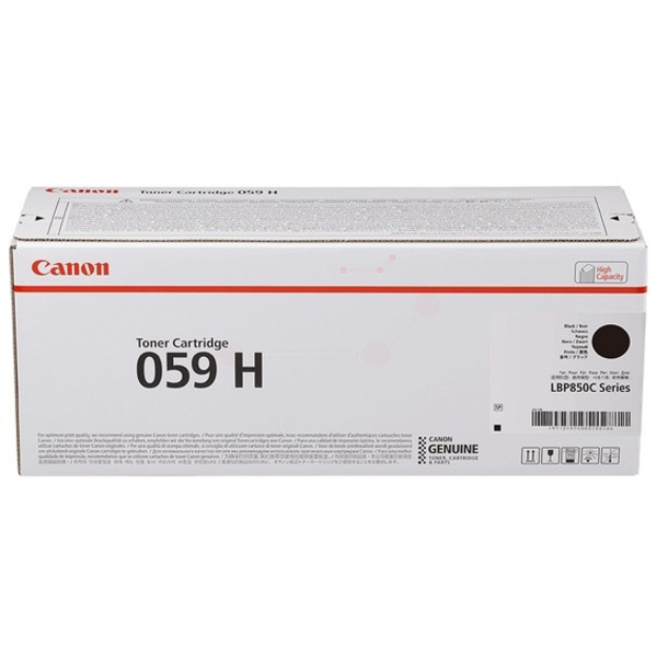 Canon 3627C001 (059 H) Toner black, 15.5K pages