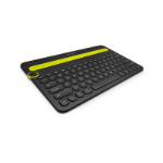 Logitech K480 Bluetooth QWERTY UK English Black,Yellow mobile device keyboard