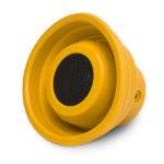 SYBA X-Horn Mono portable speaker 3W Yellow