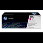HP 305A Origineel Magenta 1 stuk(s)