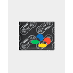 Nintendo SNES AOP Bifold Wallet Multicolour