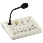 Monacor PA-6000RC Interview microphone Wired White microphone