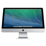 "Apple iMac 3.2GHz 27"" 2560 x 1440pixels Silver All-in-One PC"