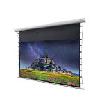 """Celexon DELUXX Cinema - 243cm x 136cm - 110"""" Diag - SOUNDVISION Acoustic Transparent Electric Tensioned Screen"""