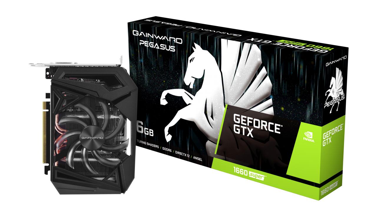 Gainward 471056224-1365 graphics card GeForce GTX 1660 SUPER 6 GB GDDR6