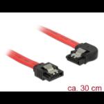 DeLOCK 83963 SATA cable 0.3 m SATA 7-pin Black, Red