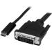 StarTech.com Cable Adaptador Conversor USB-C a DVI - 1m - 1920x1200