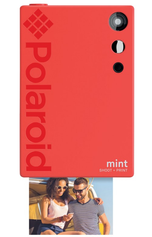 Polaroid Mint 50 x 76 mm Red