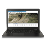"HP ZBook 15u G3 + Z24n 2.5GHz i7-6500U 15.6"" 1920 x 1080pixels Black"