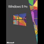 Microsoft Windows Professional 8 32/64bit, 1U, UPG, DVD, SWE