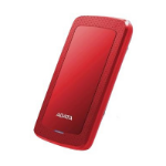 ADATA HV300 1000GB Red external hard drive