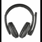Trust 21662 Binaural Head-band Black headset