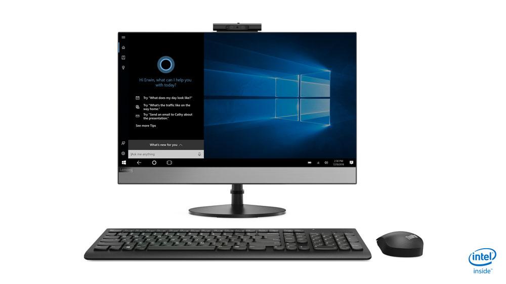 "Lenovo V530 60.5 cm (23.8"") 1920 x 1080 pixels Touchscreen 1.70 GHz 8th gen Intel® Core™ i5 i5-8400T Black All-in-One PC"
