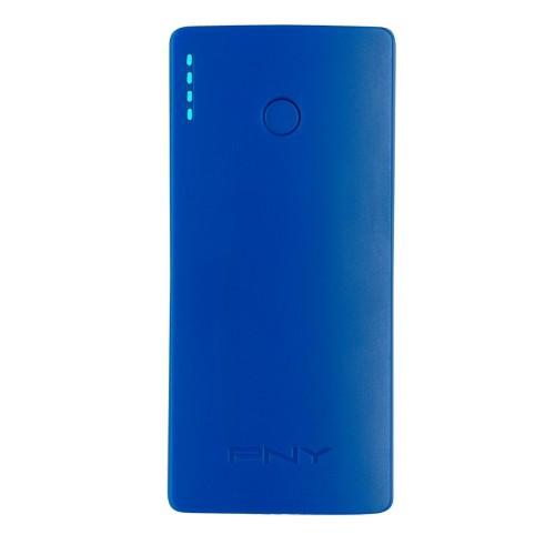 PNY PowerPack Curve 5200 power bank Blue Lithium-Ion (Li-Ion) 5200 mAh