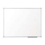 Nobo Pizarra blanca Basic no magnética melanina 1800x1200 mm con marco básico