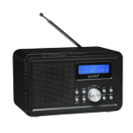 Denver Electronics DAB-35BLACKMK2 Personal Digital radio