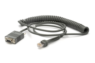 Zebra RS232 Cable signal cable 2.7 m Grey