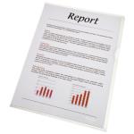 Esselte Value Esselte A4 Economy Folder Clear A4 80mic 54810 (PK100)