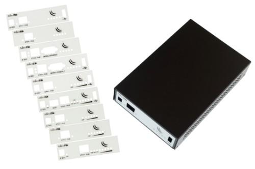 Mikrotik CA411-711 equipment case Cover Black