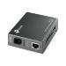 TP-LINK MC112CS network media converter 100 Mbit/s Single-mode Black